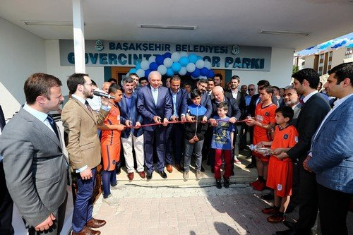 Güvercintepe Spor Parkı açıldı