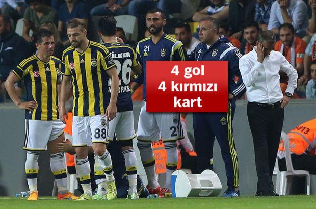 Başakşehir ile Fenerbahçe 2-2