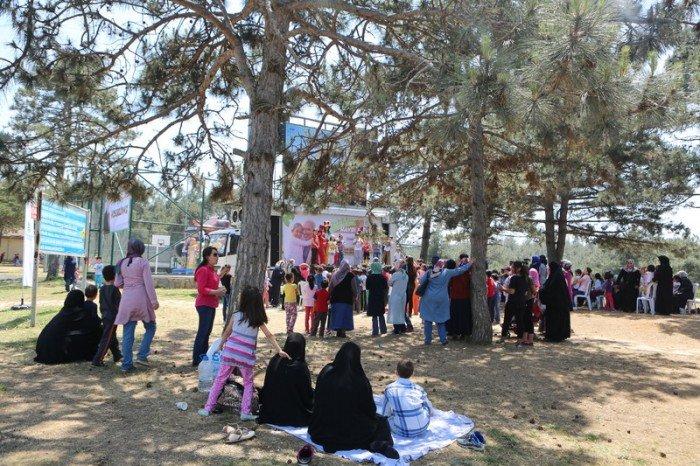 Başakşehir'de Anneler Günü Piknikle Kutlandı