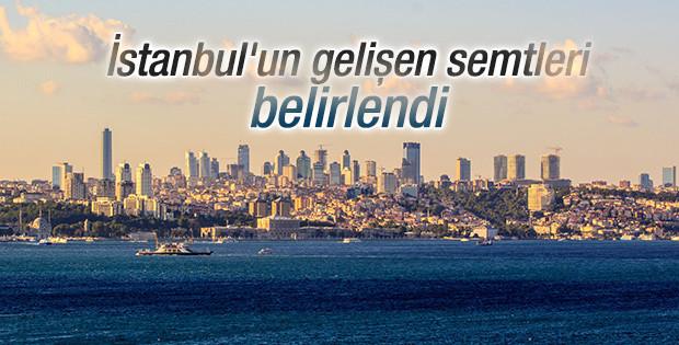 İstanbul'un gelişen semtleri