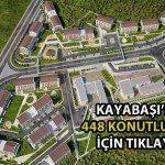 Kayaşehir'e Yerel Mimarili 448 yeni konut!