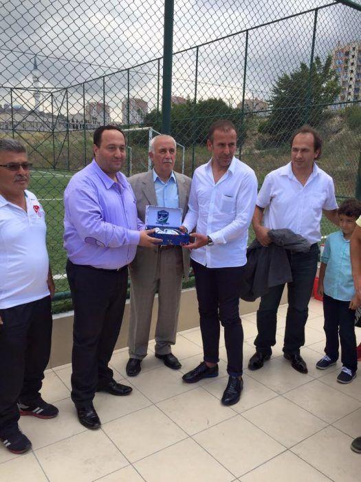 Abdullah Avcı, Kayaşehir Sporu Ziyaret Etti