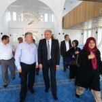 Başkan Uysal, Boğazköy Camisi'ni gezdi