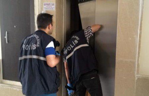 Toki konutlarında çocuk asansör boşluğuna düştü