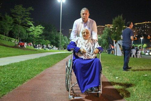 Sular Vadisi'nde tekerlekli sandalye hizmeti
