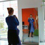 """Moda dünyasında """"Akıllı Ayna"""" dönemi"""