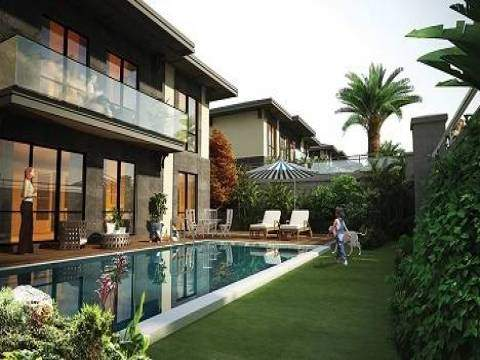 Yonca Park Villaları Bahçeşehir'de yükseliyor!