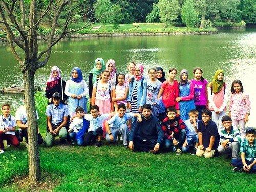 Bilgievi öğrencileri Atatürk Arboretum gezdi