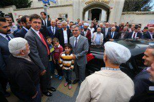 Abdullah Gül cuma namazı