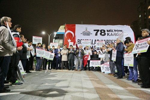 Başakşehir'den Kardeşlik Mesajı