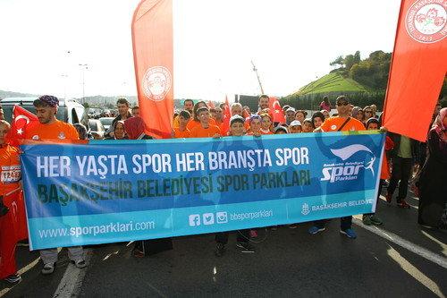 Başakşehirli sporcular İstanbul Maratonu'nda