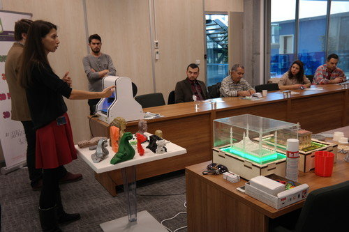 Kobilere 3D Printer ve Scanner Eğitimi