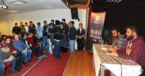 Şahintepe Bilgievi'nde rap rüzgârı