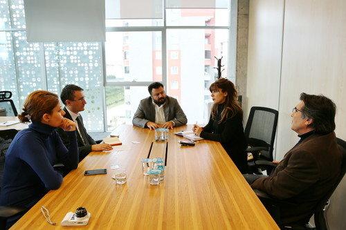 Malatya Belediyesi Living Lab'ı ziyaret etti