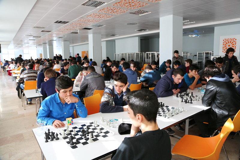 5.Gençler Satranç Turnuvasına İlgi Büyük