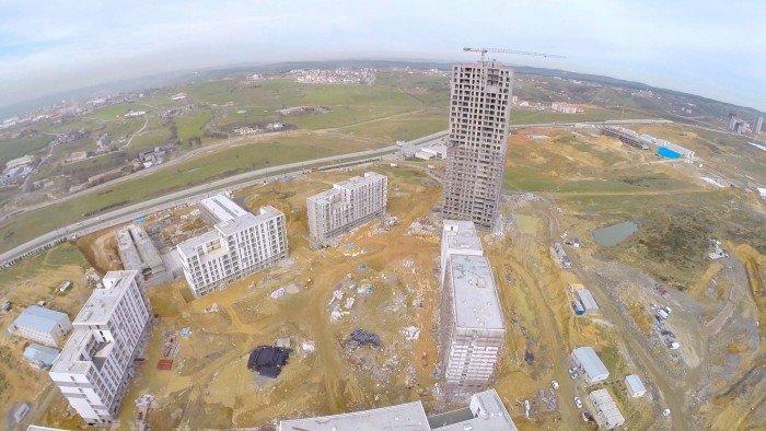 Başakşehir Evleri Havadan Video
