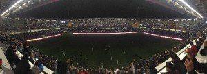 Başakşehir Fatih Terim Stadı Karanlığa Büründü