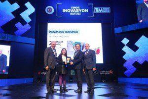 Mevlüt Uysal, İnovasyon ödüllerini verdi