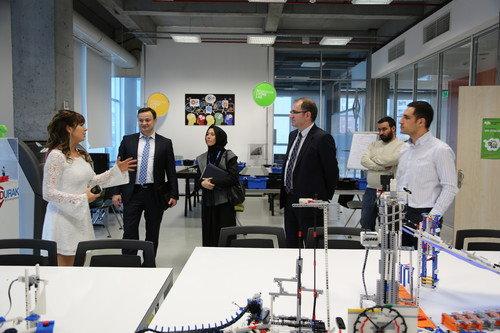 İSBAK yöneticileri Living Lab'ı ziyaret etti