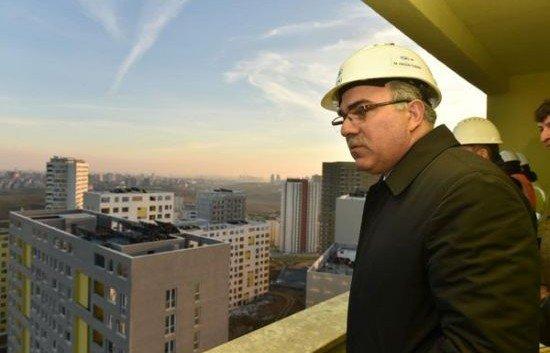 TOKİ Başkanı Kayaşehir inşaatlarını gezdi