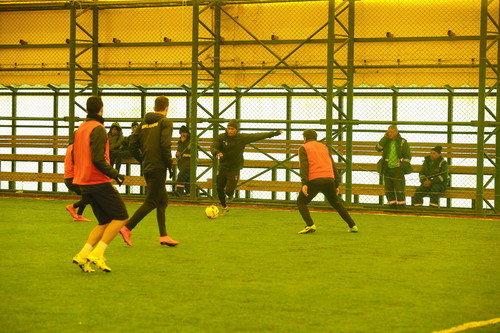 İBFK Başakşehir Spor Parkı'nda antrenman yaptı