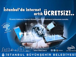 İstanbul'da Ücretsiz İnternet Dönemi