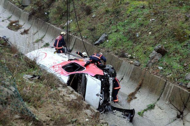 Başakşehir'de minibüs kazası: 2 ölü