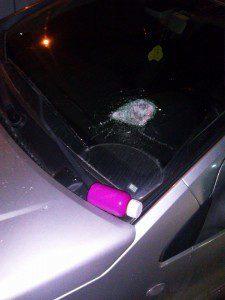 Kayaşehir'de Araçlar Zarar Görüyor