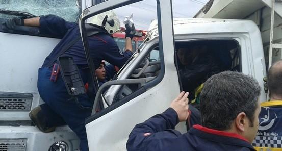 kamyon kazası