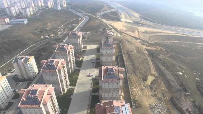 TOKİ Kayaşehir 23.Bölge -Havadan-