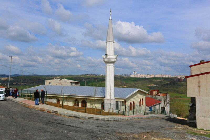 Şahintepe Hz. Ali Ekber Camisi açıldı