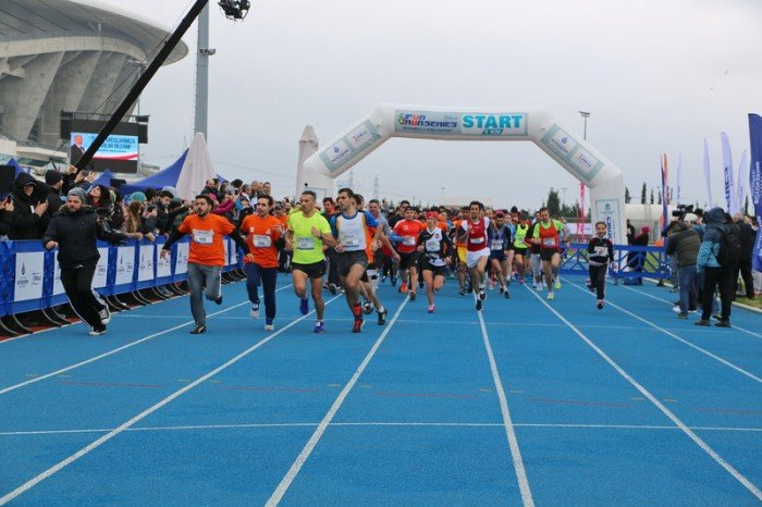 'Fun Run Series' Koşusu Yapıldı