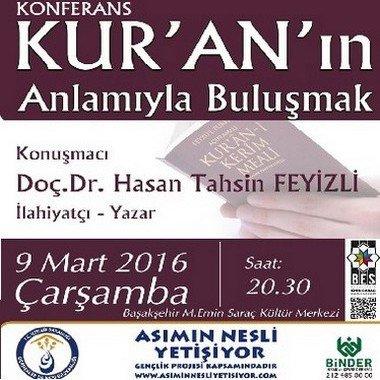 Kur'an'ın Anlamıyla Buluşma konferansı