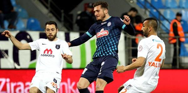 Medipol Başakşehir Yarı Final'de Yok