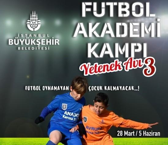 Futbol Akademi Kampı ve Yetenek Avı Başladı