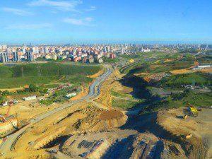 Kayaşehir-Onurkent Yol Çalışması