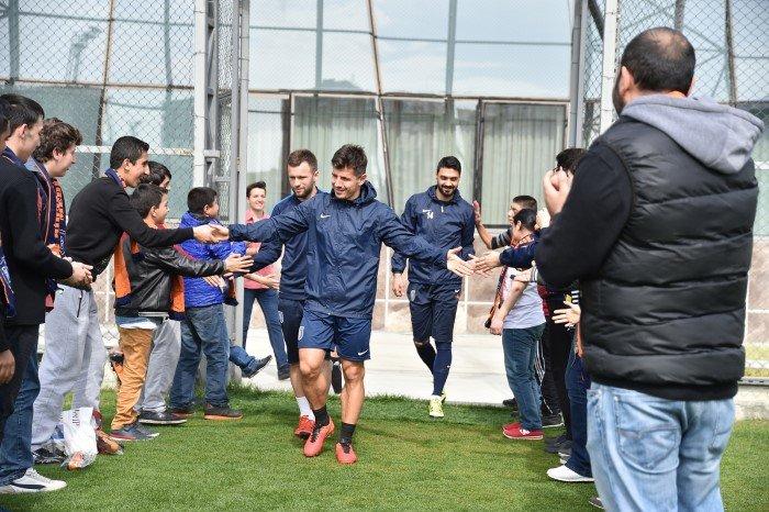 Cennet Çocukları Başakşehir İbfk'nü ziyaret etti
