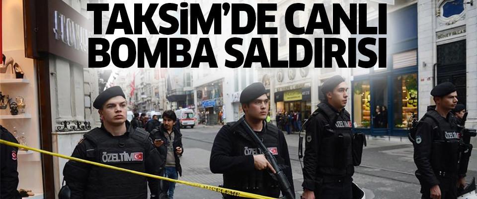 Taksim İstiklal Caddesi'nde patlama