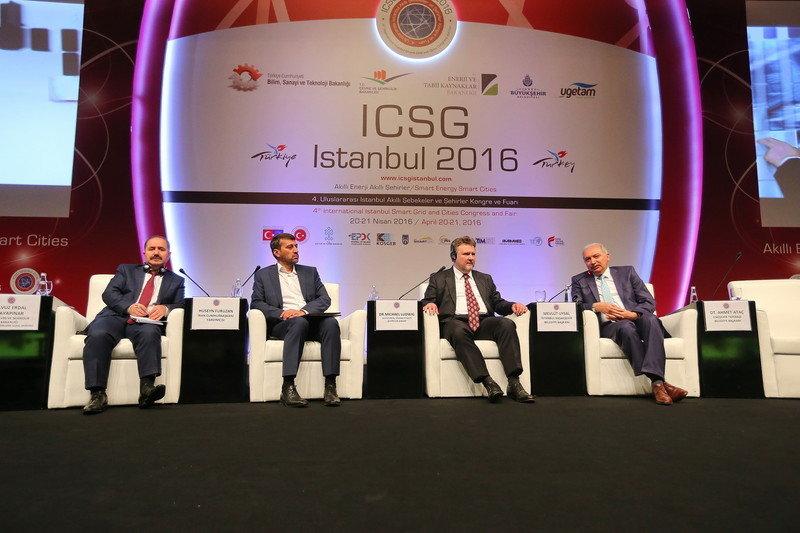 Mevlüt Uysal, Akıllı Şehirler Kongresi'ne katıldı