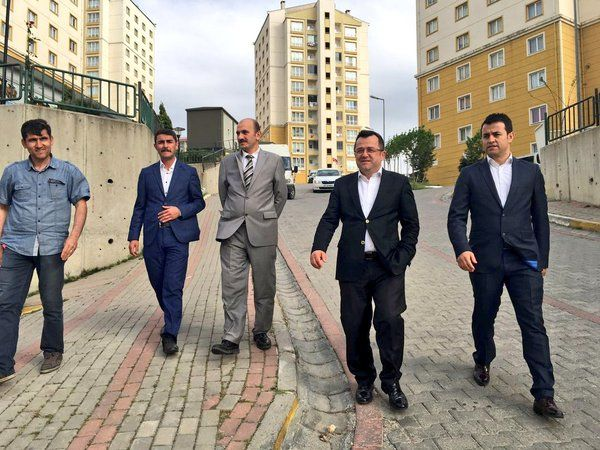 Hasan Durhat Kayaşehir'i Ziyaret Etti
