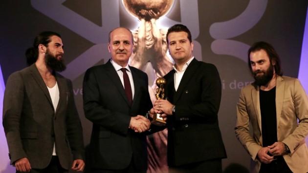 'Medya Oscarları' ödüllerini aldı