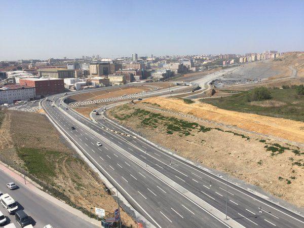 İştoç Yolu Başakşehir Trafiğini Rahatlattı