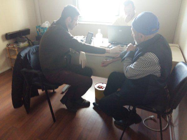 Kayaşehir 3.Bölge'de Sağlık Taraması