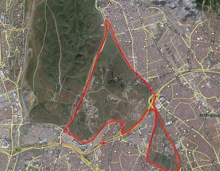 Esenler'deki askeri araziye 50 bin konut