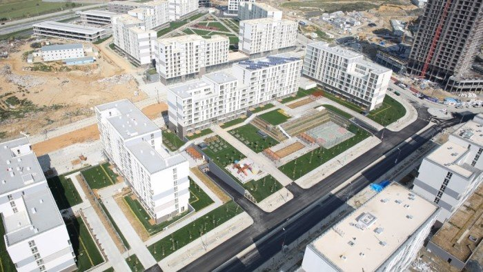 İstanbul Kayaşehir'de kira fiyatları düştü