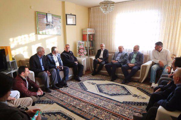 Mehdi Eker'in Başakşehir Ziyareti
