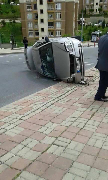 Kayaşehir 1.bölge Trafik Kaza