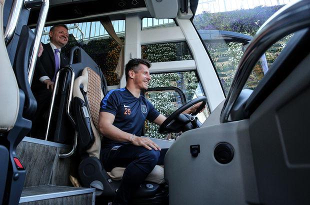 Başakşehirspor'un yeni takım otobüsü