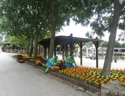 Başakşehir'de yaz bir başka güzel