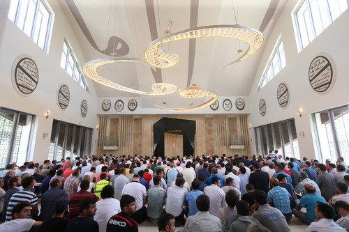 Hacı Kamil Demiröz Camisi açıldı